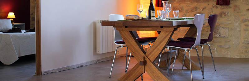 Gîte le Vignoble pour 8 personnes, au Mas de la Rivoire, à proximité de Sommières (Gard)