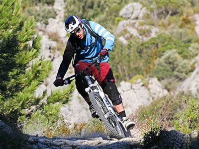 Cycling, cycling and MTB excursions (bike rental on Mas de la Rivoire)