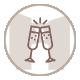 icone événement-mariage et chambre d'hotes du mas de la rivoire