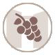 icone vigne et vin des chambres d'hotes du mas de la rivoire