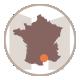 icone de la région des gites et chambre d'hotes du mas de la rivoire