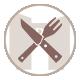 icone des restaurants gites et chambre d'hotes du mas de la rivoire