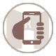 icone téléphoner aux gites du Mas de la Rivoire