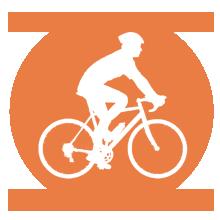 Logo vélo de route