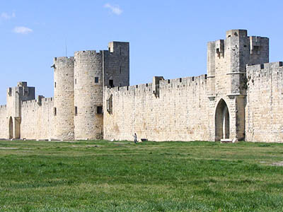 The Saline and fortress of Aigues-Mortes
