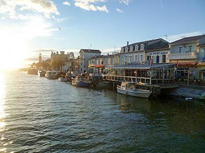 Le port de pêche du Grau du Roi