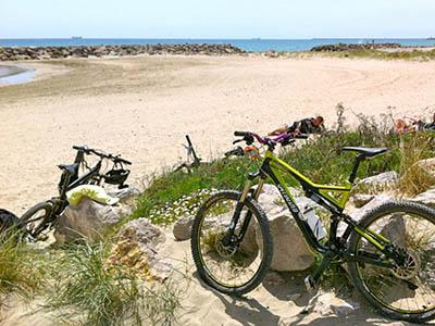 La plage de la Grande-Motte