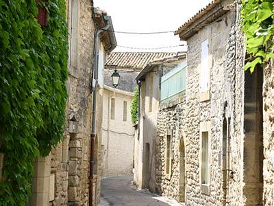 Le village de Villevieille
