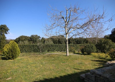 Jardin privatif de 300 m²