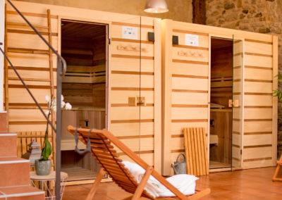 Espace détente - Sauna/Jacuzzi