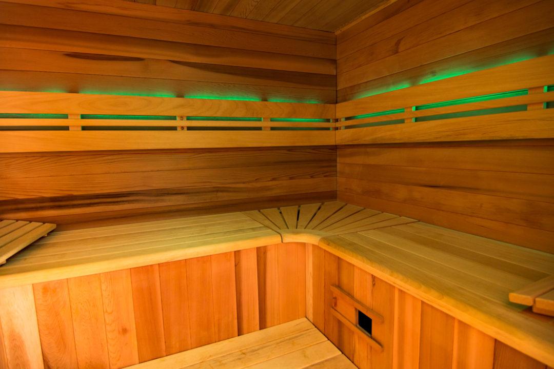 2 cabines de Sauna